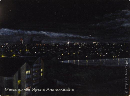 """Панорама ночеого Кургана """"Вид из окна"""" фото 6"""