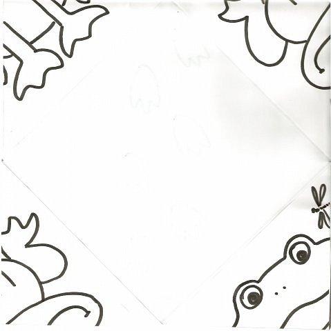 """Благодаря работе мастера Lyumila - https://stranamasterov.ru/node/500924 (за что ей сердечное спасибо!) у меня родилась идея провести один из конкурсов на дне рождения у сыночка на основе игры """"Кто наследил?"""" Делюсь с вами, дорогие мамочки, своими рисунками-заготовками к этой игре. Можете взять рисунки, разрезать их по диагонали и сделать заготовки игры сами (пройдёте по ссылочке и всё поймёте) или сразу распечатать мои заготовки для сгибания, нарисовать на обороте следочки, прочертить линии сгиба - и ИГРАТЬ! Вот такая коза получится... фото 11"""
