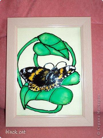 Картинки сделаны витражными красками на стекле фото 1