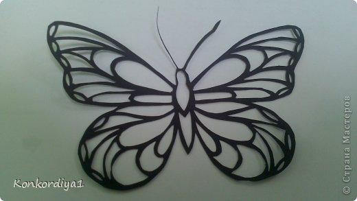 Поделка изделие Вырезание Бабочки Бумага фото 3