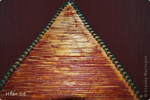 Пирамида своими руками из спичек