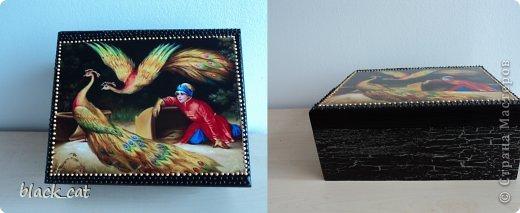 Коробка для чайных пакетиков фото 1