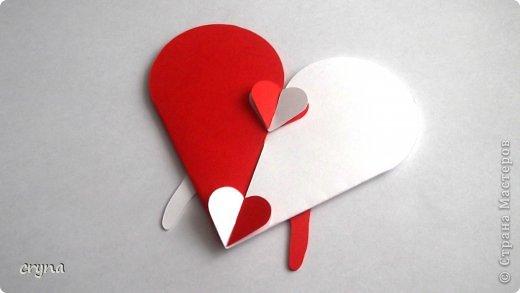 Поделка изделие Валентинов день Вырезание Butterfly heart Basket Бумага фото 4