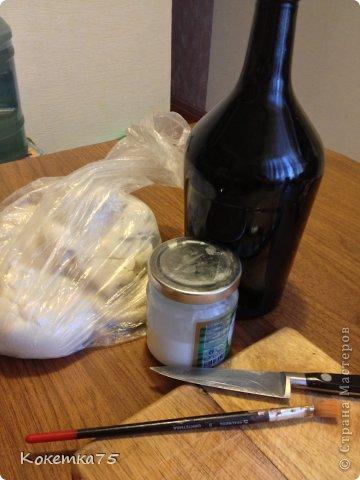 Здравствуйте дорогие мастерицы и мастера, сегодня я хочу показать Вам как я делаю бутылки-домики...... фото 2