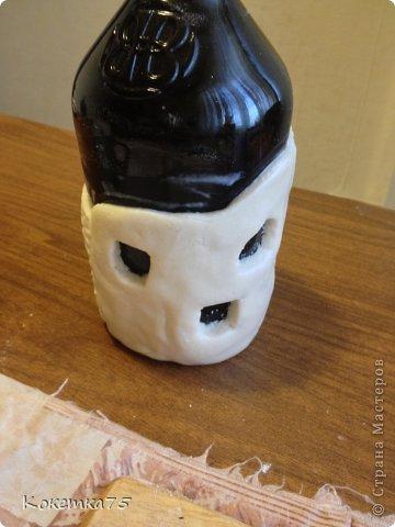 Здравствуйте дорогие мастерицы и мастера, сегодня я хочу показать Вам как я делаю бутылки-домики...... фото 19
