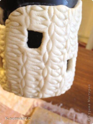 Здравствуйте дорогие мастерицы и мастера, сегодня я хочу показать Вам как я делаю бутылки-домики...... фото 21