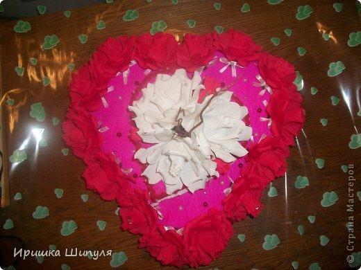 вот он мой тортик в два яруса)....Его заказал парень для своей жены на день СВЯТОГО ВАЛЕНТИНА!!!!!!!!    ммммммммммм.........Как романтично)))) фото 3
