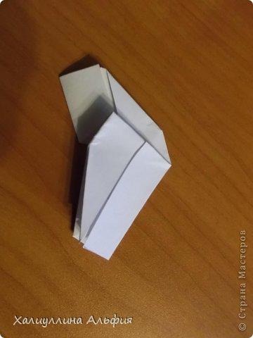 """Эта кусудама очень проста в сборке. Ее я делала по видео-мастерклассу TadashiMori на ютубе. Вот и ссылка: http://www.youtube.com/watch?v=E5pAdiKKsRQ&feature=player_embedded Оригинал https://www.flickr.com/photos/mancinerie/5158402157/in/set-72157625705249454  Мне она немного напомнила всем известную """"Электру"""". Потому что в нее с таким же удовольствием можно """"посадить"""" любые цветочки. А вообще, она сама по себе красива, на мой взгляд. Для сборки совсем не нужен клей. Только бумага, час времени и терпение. фото 14"""