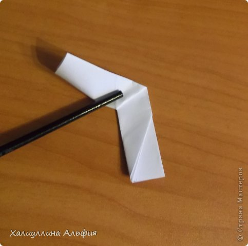"""Эта кусудама очень проста в сборке. Ее я делала по видео-мастерклассу TadashiMori на ютубе. Вот и ссылка: http://www.youtube.com/watch?v=E5pAdiKKsRQ&feature=player_embedded Оригинал https://www.flickr.com/photos/mancinerie/5158402157/in/set-72157625705249454  Мне она немного напомнила всем известную """"Электру"""". Потому что в нее с таким же удовольствием можно """"посадить"""" любые цветочки. А вообще, она сама по себе красива, на мой взгляд. Для сборки совсем не нужен клей. Только бумага, час времени и терпение. фото 17"""