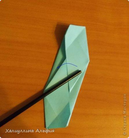 """Эту модель я нашла в книге Томоко Фусэ """"Многогранники"""". Она проста в сборке (в книге помечена двумя звездочками сложности). Для ее сборки НЕ нужен клей. Только бумага и немного терпения. фото 26"""
