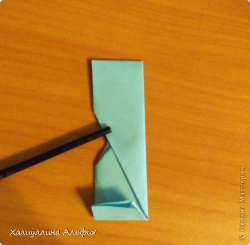 """Эту модель я нашла в книге Томоко Фусэ """"Многогранники"""". Она проста в сборке (в книге помечена двумя звездочками сложности). Для ее сборки НЕ нужен клей. Только бумага и немного терпения. фото 28"""