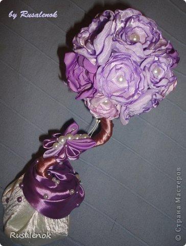 Цветочный топиарий фото 5