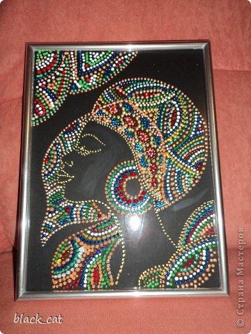 Контурные краски  Marabu на стекле фото 1