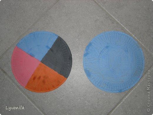 Летающая тарелка из картона своими руками