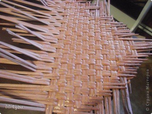 Мастер-класс Поделка изделие Плетение А теперь немного о мебели  + МК Бумага газетная Трубочки бумажные фото 3
