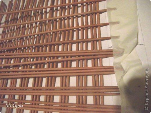 Мастер-класс Поделка изделие Плетение А теперь немного о мебели  + МК Бумага газетная Трубочки бумажные фото 9