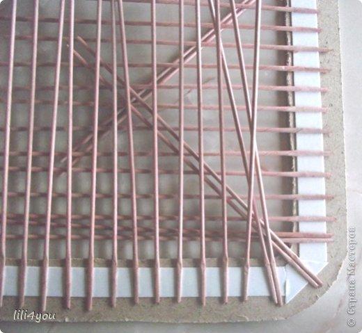 Мастер-класс Поделка изделие Плетение А теперь немного о мебели  + МК Бумага газетная Трубочки бумажные фото 11