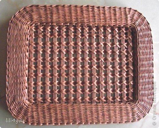 Мастер-класс Поделка изделие Плетение А теперь немного о мебели  + МК Бумага газетная Трубочки бумажные фото 13
