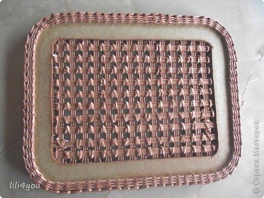 Мастер-класс Поделка изделие Плетение А теперь немного о мебели  + МК Бумага газетная Трубочки бумажные фото 14