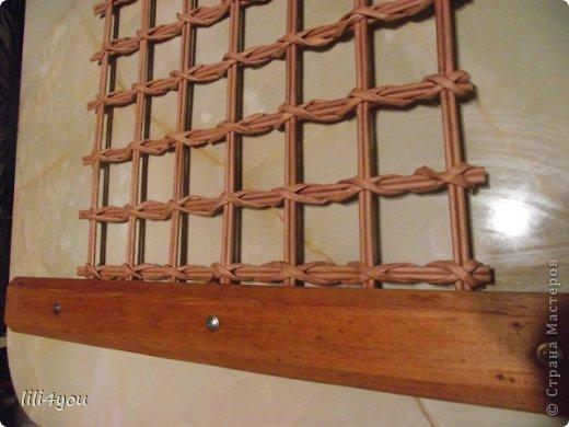 Мастер-класс Поделка изделие Плетение А теперь немного о мебели  + МК Бумага газетная Трубочки бумажные фото 17