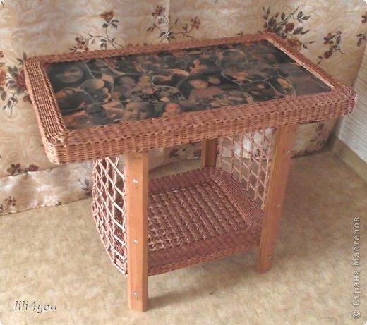Мастер-класс Поделка изделие Плетение А теперь немного о мебели  + МК Бумага газетная Трубочки бумажные фото 20