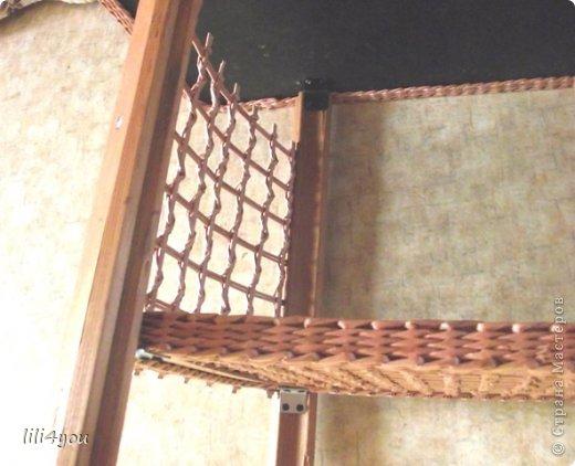 Мастер-класс Поделка изделие Плетение А теперь немного о мебели  + МК Бумага газетная Трубочки бумажные фото 18