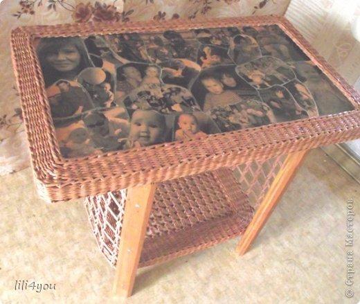 Мастер-класс Поделка изделие Плетение А теперь немного о мебели  + МК Бумага газетная Трубочки бумажные фото 21
