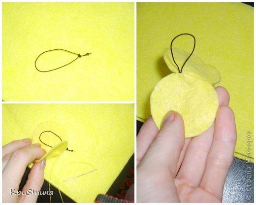 Задумала я сделать таких весёлых смайликов. Идея и выкройка мои собственные :) фото 3