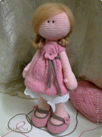 Куклы фото вязанные
