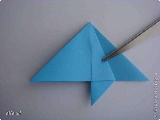 """Готовлюсь к занятиям кружка """"Оригами"""". Тема """"Орнаменты"""". Чтобы заинтересовать, стараюсь сделать образцы. Вот что у меня получилось сегодня. Это орнамент """"Иллюзия"""". Делала по книге Т.Сержантовой """"100 праздничных моделей оригами"""". Выглядит красиво, но уж очень много слоев. Ведь этот орнамент из 20 модулей. фото 44"""