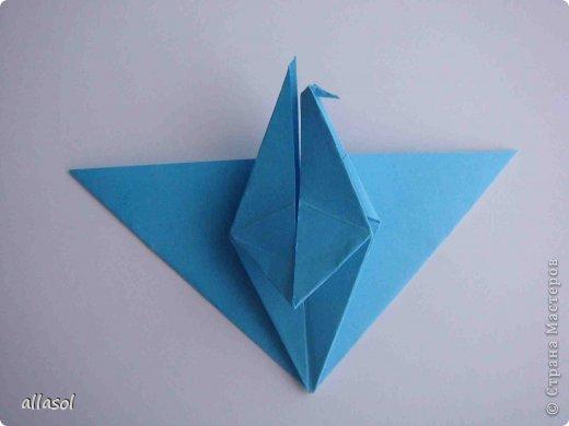 """Готовлюсь к занятиям кружка """"Оригами"""". Тема """"Орнаменты"""". Чтобы заинтересовать, стараюсь сделать образцы. Вот что у меня получилось сегодня. Это орнамент """"Иллюзия"""". Делала по книге Т.Сержантовой """"100 праздничных моделей оригами"""". Выглядит красиво, но уж очень много слоев. Ведь этот орнамент из 20 модулей. фото 51"""