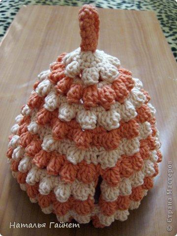 Доброго всем дня! У меня связалась персиково-ванильная тройка. Люблю Голубкины презенты.В доме потом становится уютнее и красивее.  фото 13