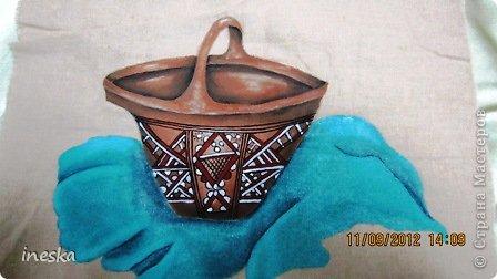 Вот решила вам показать мои рисунки,которые рисовала уже давненько, случайно нашла их и заодно похвастаться подарочками которые мне прислали мастерицы, Это  глиняная посуда ,которую изготовляют у нас в Алжире фото 2
