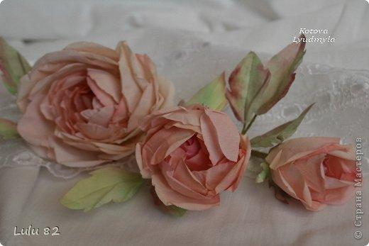 сделать розу из ткани или