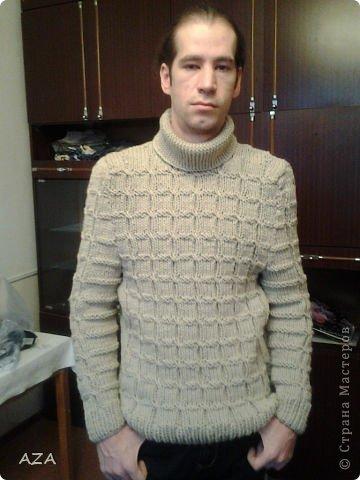 Мастер класс как связать мужской свитер