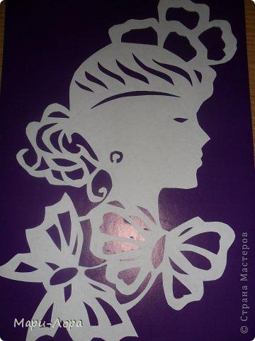 Картина панно рисунок Вырезание Мои вырезалочки - повторюшки Бумага Картон фото 1