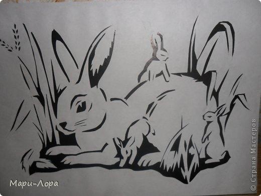 Картина панно рисунок Вырезание Мои вырезалочки - повторюшки Бумага Картон фото 4