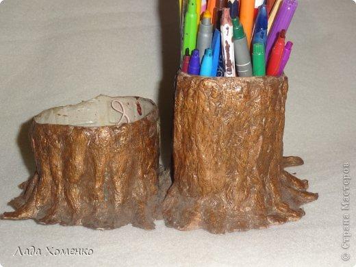 Подруге на день рождения сплела вот такое деревце. фото 2
