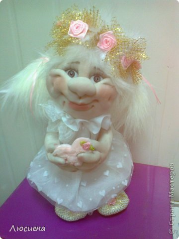 Куклы капрона своими руками