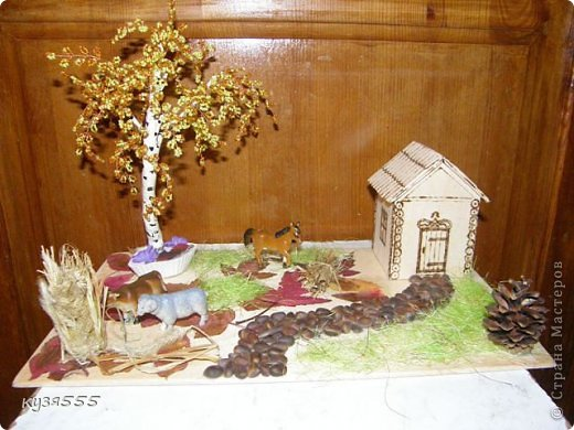 Поделки из бисера на тему осень