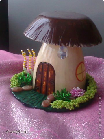 Сказочный гриб-домик фото 26