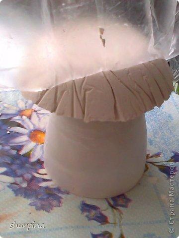 Сказочный гриб-домик фото 9