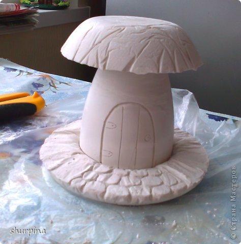 Сказочный гриб-домик фото 16