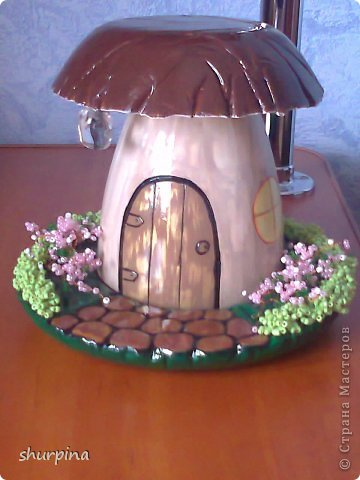 Сказочный гриб-домик фото 1