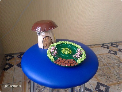 Сказочный гриб-домик фото 24