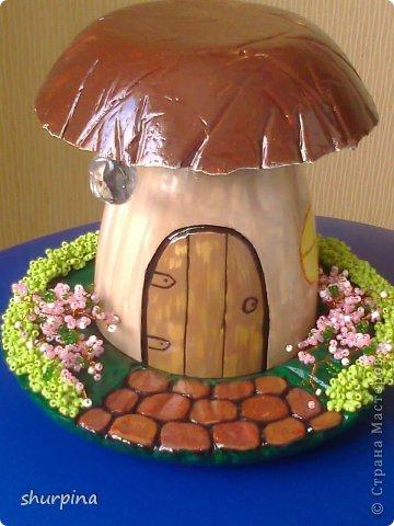 Сказочный гриб-домик фото 25