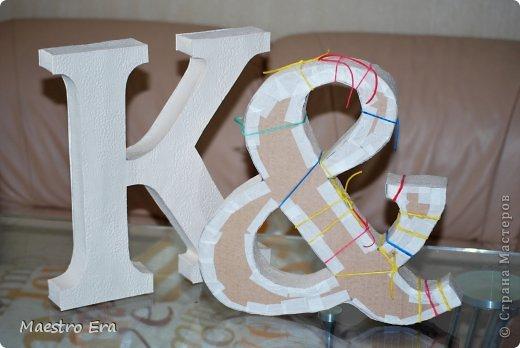 Буквы из гипсокартона своими руками