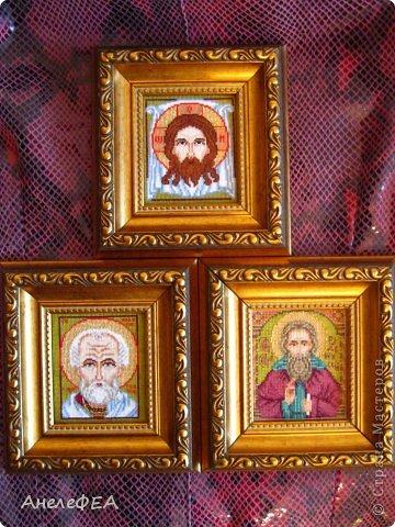Вышивка крестом Иконки