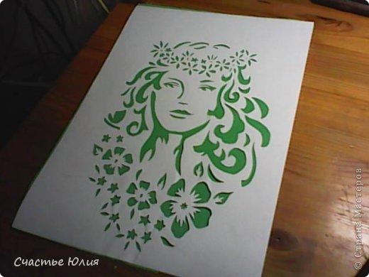 Картина панно рисунок Вырезание Весна звонила Скоро буду Бумага