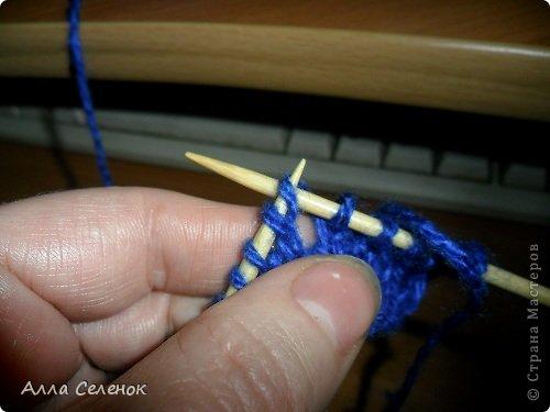 Гардероб Мастер-класс Вязание спицами Вязание тапочек-следочков Пряжа фото 17